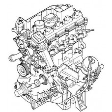 Контрактный (б/у) двигатель BMW 20 4D1 (M47D20) (БМВ 204D1)