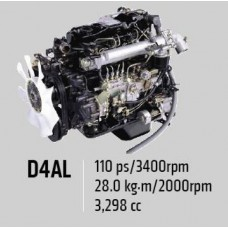 Контрактный (б/у) двигатель HYUNDAI D4AL (ХЮНДАЙ County, HD72)