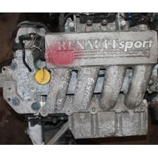 Контрактный (б/у) двигатель RENAULT F4R 730, F4R 732 (РЕНО Clio II, Laguna II 2.0i)