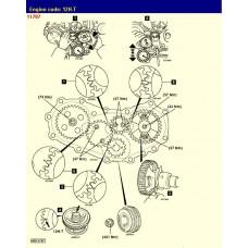 Контрактный (б/у) двигатель TOYOTA 12H-T (ТОЙОТА 12HT)