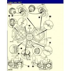 Контрактный (б/у) двигатель TOYOTA 13B-T (ТОЙОТА Прадо, ТойоЭйс, Дюна)