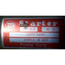 Контрактный стартер KIA JT, J2 (0K60A18400) (КИА Bongo 3, Frontier, Pregio, Joice)