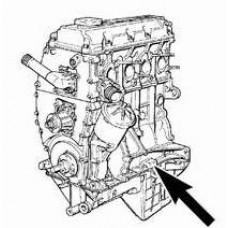 Контрактный (б/у) двигатель BMW 16 4E2 (M43) (БМВ 164E2)
