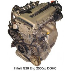 Контрактный (б/у) двигатель INFINITI SR20DE (ИНФИНИТИ SR20-DE)