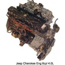 Контрактный (б/у) двигатель JEEP 242 (ДЖИП Чероки, Вранглер)